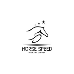 horse abstract logo