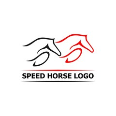 speed horse logo