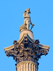 Nelson Column in London.
