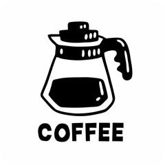 coffee in a coffee pot