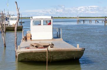 bateau de peche huitre