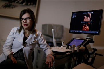 Adriana Melo, the doctor who first linked the Zika virus to deformed fetuses, attends an interview with Reuters in Campina Grande