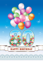 Happy birthday 80 years