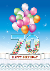 Happy birthday 70 years