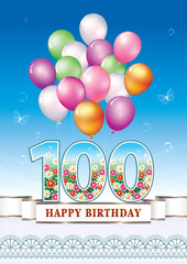 Happy birthday 100 years