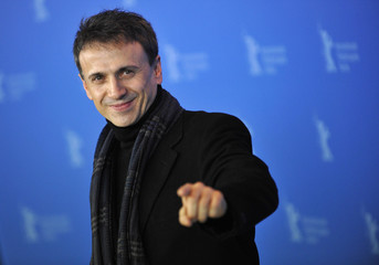 """Cast member Mota poses during a photocall to promote the movie """"La Chispa de la Vida"""" at the 62nd Berlinale International Film Festival in Berlin"""