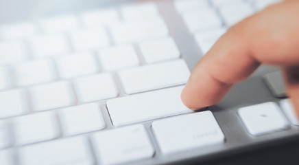press button on computer keyboard