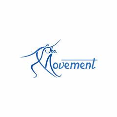 M Letter Dance Logo