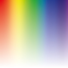 Light rainbow mesh vector background