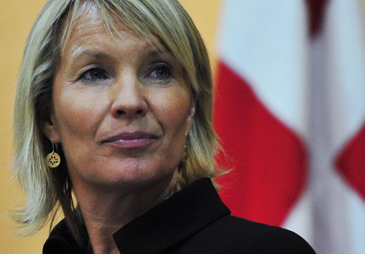 Denmark declared the National Transnational Council as legitimate representative for the Libyan people, the Danish foreign Minister said in a press conference on Wednesday in Benghazi