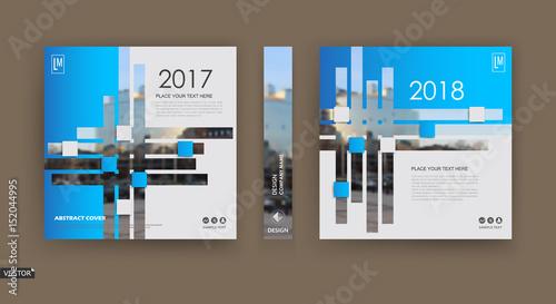 abstract hi tech blurb white blue brochure cover design fancy