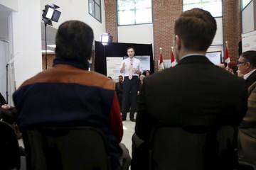 Canada's Finance Minister Morneau speaks in Ottawa