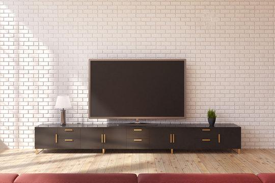TV set living room