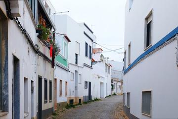 old european city street