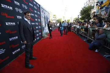 "Cast member Depp poses at the world premiere of ""The Lone Ranger"" at Disney California Adventure Park in Anaheim"