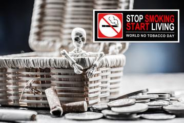 No smoking and World No Tobacco Day