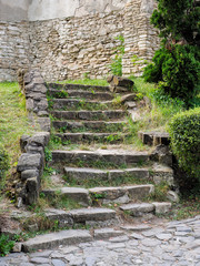 Old stair in Sighisoara
