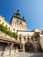 The Clock Tower (Turnul cu Ceas) in Sighisoara