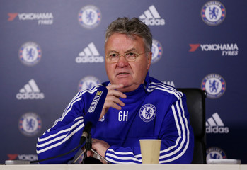 Chelsea - Guus Hiddink Press Conference