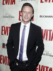 Actor Will Chase arrives for the opening night of the broadway show 'Evita' in New York