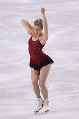 Wagner of the U.S. performs her ladies short program at the Bompard Trophy ISU Grand Prix of figure skating competition in Paris