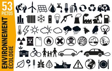 icône - environnement - écologie - énergie - renouvelable - développement durable