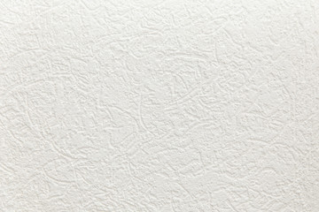 Blank concrete wall white color for texture background