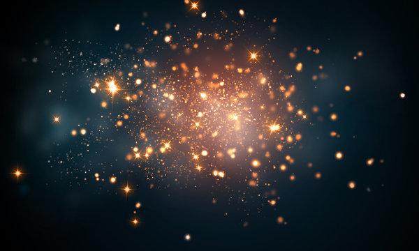firework sparkles
