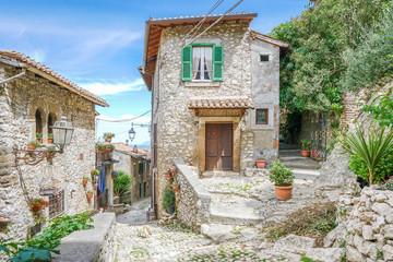 Scenic sight in Artena, old rural village in Rome Province, Latium, central Italy. Fototapete
