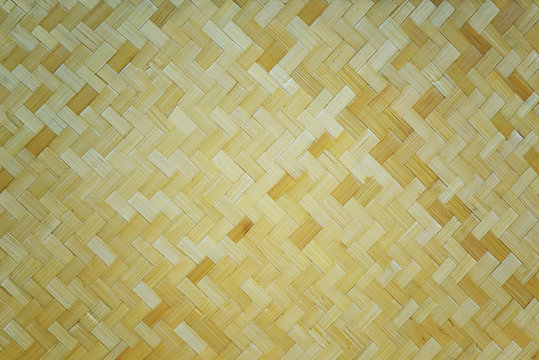 Bamboo woven background and textured