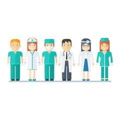 people medical staff