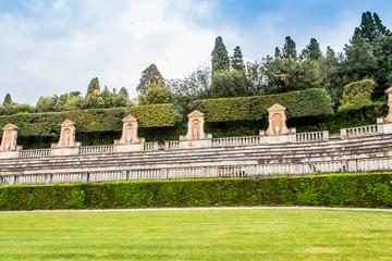 Dans les jardins du Palazzo Pitti à Florence