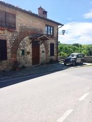Stile retrò in Toscana (Italy)