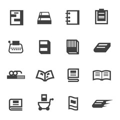 Book Business Icon Logo Vector