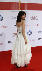 Actress Kekilli arrives to the German Film Prize ceremony in Berlin