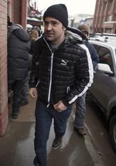Actor Livingston walks on Main Street during Sundance Film Festival in Park City