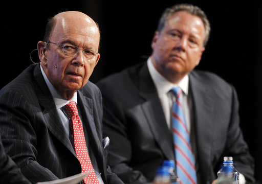 Robert Wolf  and Wilbur Ross Jr. at  2011 The Milken Institute Global Conference  in Beverly Hills