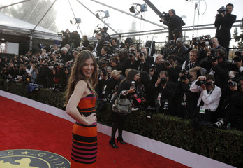 Steinfeld arrives at the 17th annual Screen Actors Guild Awards in Los Angeles
