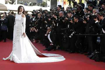 "Actress Sonam Kapoor arrives for the screening of the film ""Mal de pierres"" (From the Land of the Moon) in competition at the 69th Cannes Film Festival in Cannes"