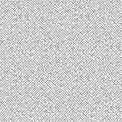 Abstract seamless maze pattern. Maze background.