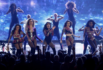 "Fifth Harmony perform ""Work From Home"" with Ty Dolla $ign at the 2016 Billboard Awards in Las Vegas"