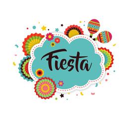 Mexican Fiesta background banner