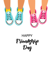 Best friends forever, Happy friendship day design