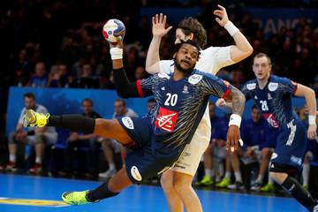 Men's Handball - France v Iceland 2017 Men's World Championship Second Round, Eighth Finals