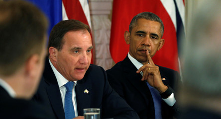 Obama hosts meeting with Nordic leaders in Washington
