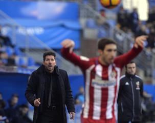 Football Soccer - Deportivo Alaves v Atletico Madrid - Spanish Liga Santander