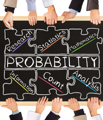 PROBABILITY concept words