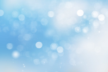 Blue abstract background blur.