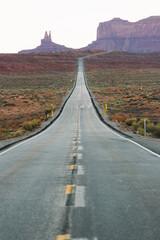 lange Straße in Amerika