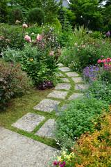 Photo sur Plexiglas Jardin flower garden